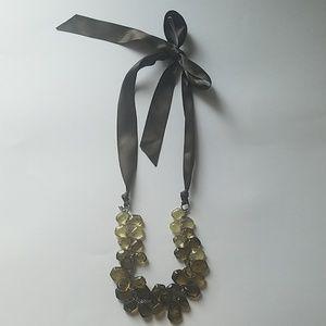 Satin Tie Necklace